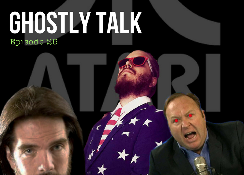 Episode 25 – Atari, Alex Jones and Lucid Dreams