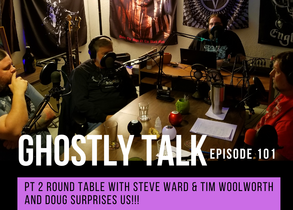 Episode 101 – Pt 2 Round Table with Steve Ward and Tim Woolworth