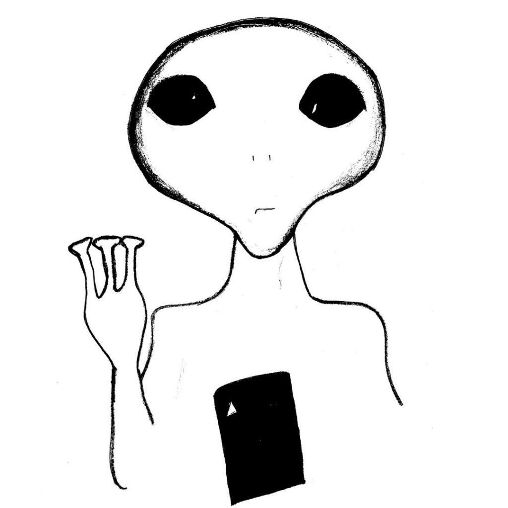 Alien Creature seen by Tonya Madia